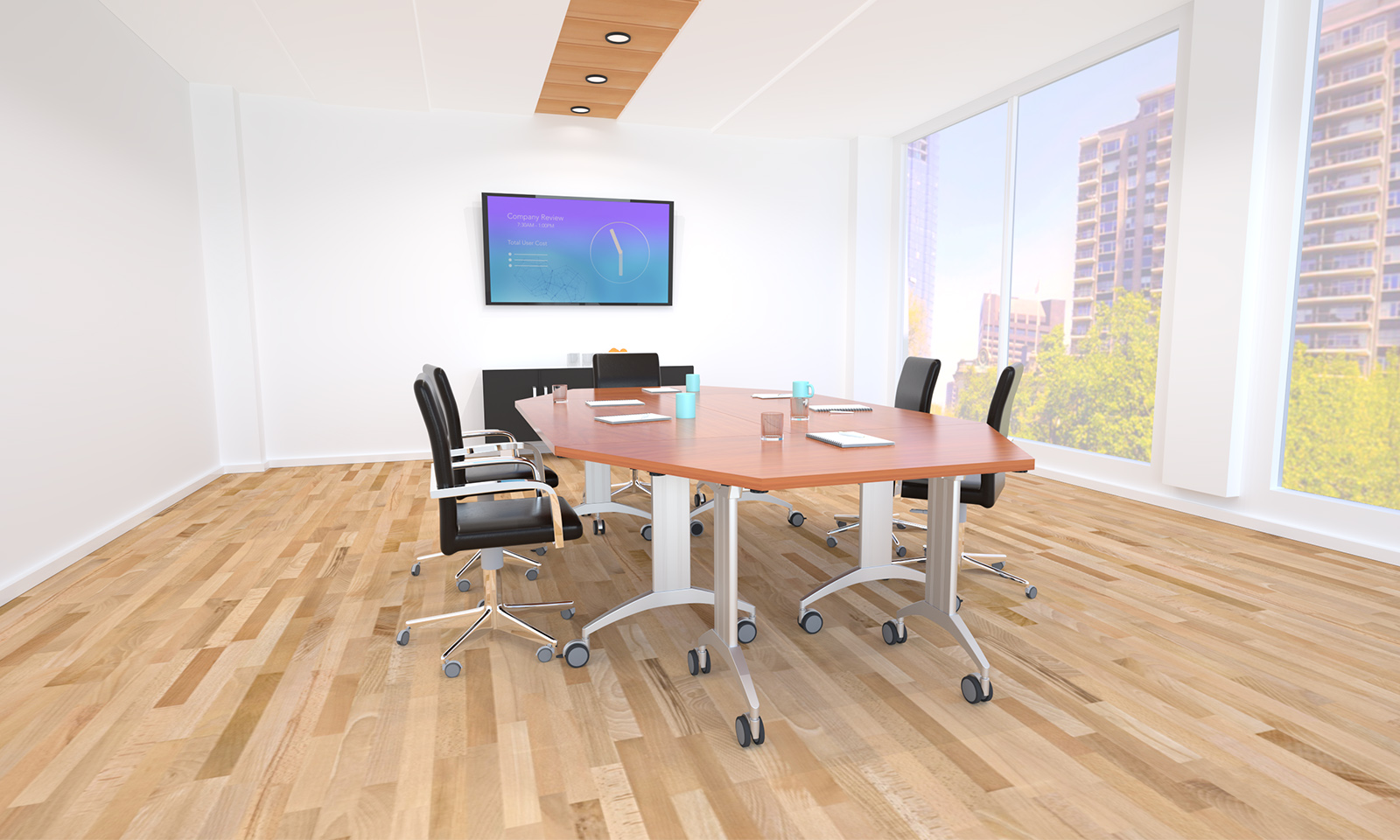 SpecialT Affordable Tables For Office Furniture Industry Tables - Trapezoid conference table