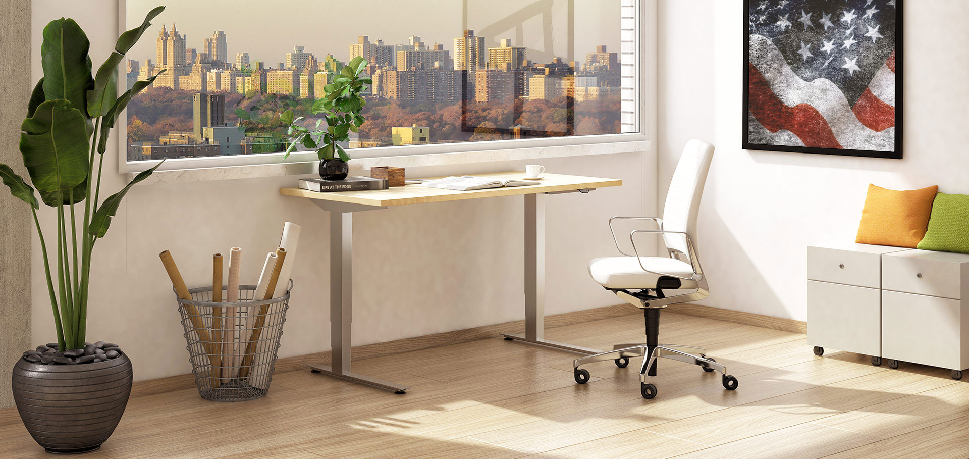 PATRIOT | Electric Height Adjustable Table
