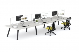 Aim EZ Desking 6-pack with 24