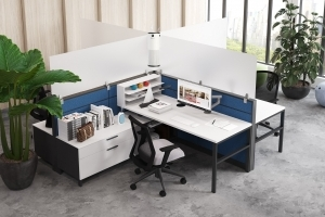 Aim EZ Desking with Air Purifier