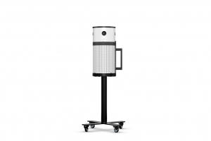 Air Purifier SCA with Mobile Sienna Stand, White