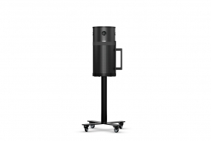 Air Purifier SCA with Mobile Sienna Stand, Black