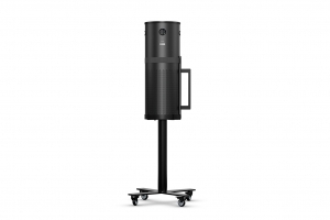 Air Purifier SCA-X with Mobile Sienna Stand, Black