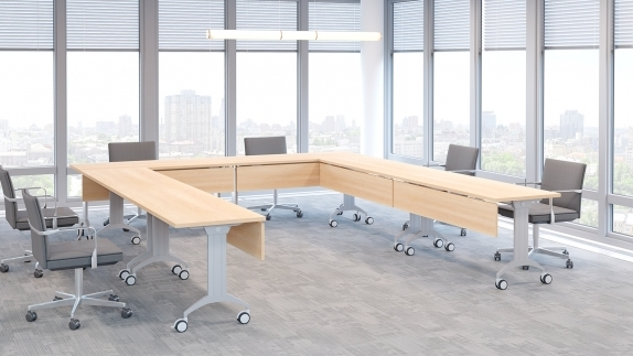 LINK Table configuration for meeting rooms
