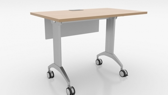 SpecialT LINK Table provides tight nesting for space saving storage when tables are not being used