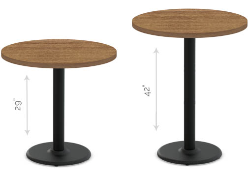 Cast Iron 2.0 - table heights - Dining Height - 29\