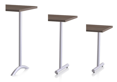 kingston table 3 legs styles