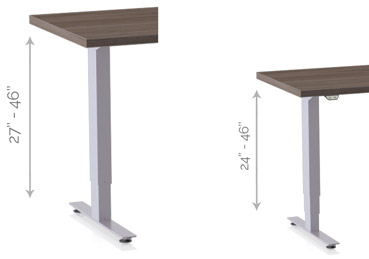 patriot table height