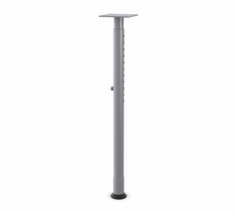 Post Leg Spring Clip Height Adjustable - Metallic Silver