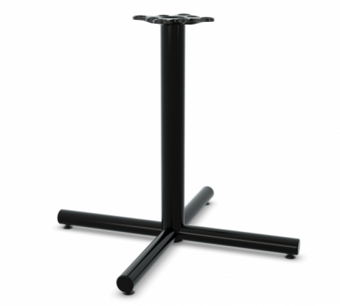 Single Column X-Base - Black